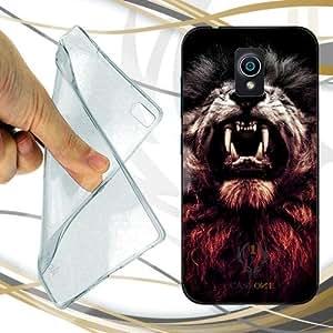 CUSTODIA COVER CASE WILD LION PER ASUS ZENFONE LIVE