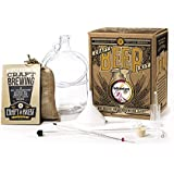 Craft A Brew Home Brewing Kit for Beer – Craft A Brew Hefeweizen Beer Kit – Starter Set 1 Gallon - Reusable Make Your…