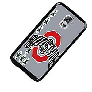 Ohio State Buckeyes with Grey (Gray) Background Custom Shockproof Plastic Case By S and S Accessories(TM) for Samsung Galaxy S5 ACTIVE