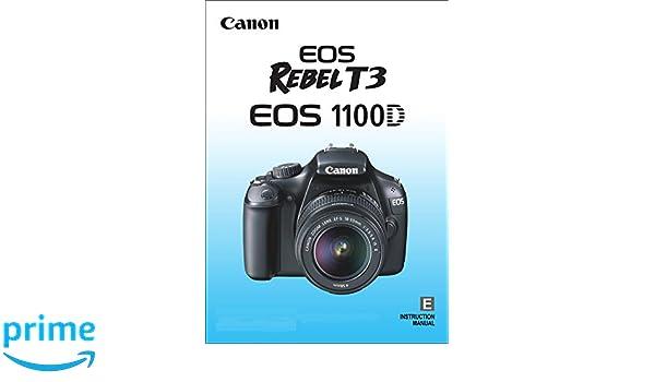 canon 1100d instruction manuals