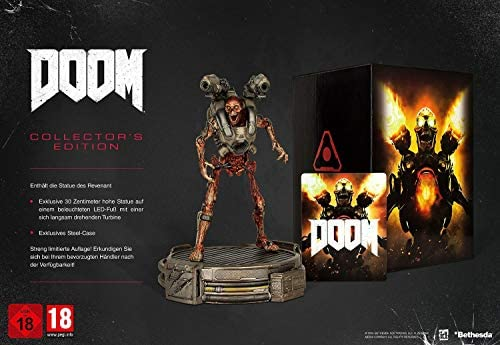 Doom Collectors Edition PlayStation 4 by Bethesda Softworks