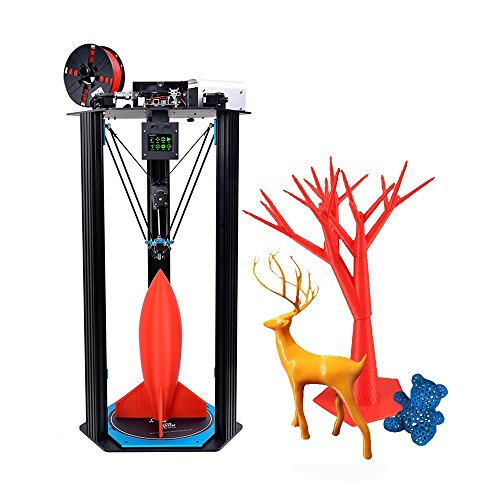 TEVO Little Monster 3D Printer DIY Kit Large Printing Size D340 H500mm Adopt for Smoothieware/ MKS TFT28 Touch Screen /BLTouch Auto Leveling /Titan Extruder High Speed Printing w/ Heatbed Printers TEVO