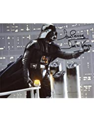David Prowse Signed / Autographed Star Wars 8x10 Glossy Photo As Darth Vader, A new hope, Empire Strikes Back, Return of the Jedi. Includes Fanexpo Fanexpo Certificate of Authenticity and Proof. Entertainment Autograph Original.