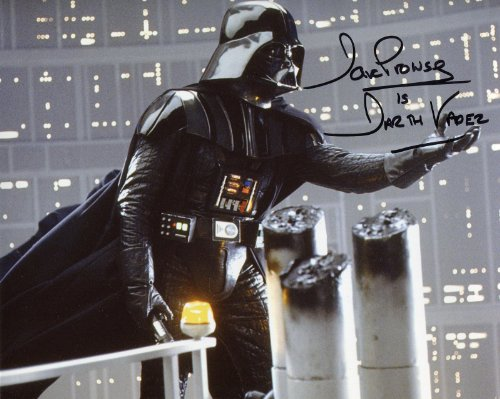 David Prowse Signed / Autographed Star Wars 8x10 Glossy Photo As Darth Vader, A new hope, Empire Strikes Back, Return of the Jedi. Includes Fanexpo Fanexpo Certificate of Authenticity and Proof. Entertainment Autograph Original. from Star League Sports