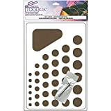 Paper Quilling Set Paper Quilling Tool with Board 8 X 5 Inches (8 Pack)