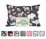 """Baby : Little Sleepy Head Toddler Pillowcase - Cuddle Collection (jungle Blue), Brown, 13"""" X 18"""""""