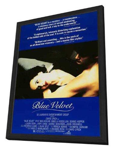 Blue Velvet Framed Movie Poster