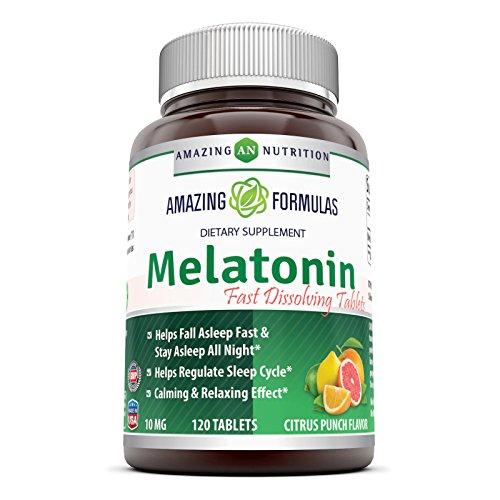 Amazing Nutrition Formulas Melatonin Dissolve product image