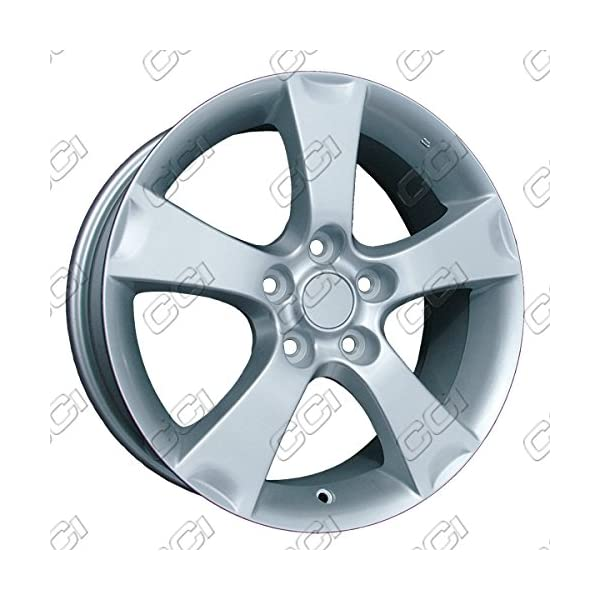 17-All-Painted-Silver-New-OEM-Wheels-for-04-06-MAZDA-3