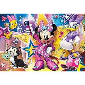 Clementoni Supercolor Puzzle Minnie Happy Helper 60 Pezzi Maxi Multicolore 26443