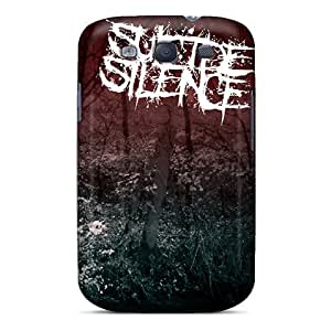 New Arrival Cover Case With Nice Design For Galaxy S3- Suicide Silence