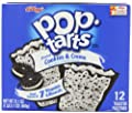 Pop-Tarts, Frosted Cookies & Cream, 21.1 Ounce, Pack of 6 from Pop-Tarts