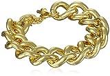 "1AR by UnoAerre 18k Gold-Plated Groumette Chain Link Bracelet, 8.5"""