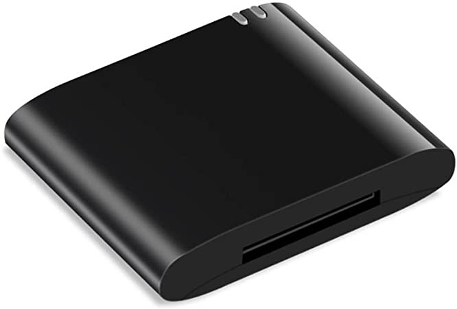 Toogoo 30pin Bluetooth Adapter 4 1 A2dp Audio Musik Empfaenger Fuer Bose Sounddock Und 30pin Iphone Ipod Anlegen Lautsprecher Nicht Mit Jedem Auto Kompatibel Schwarz Audio Hifi