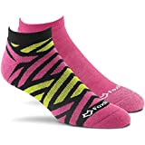 Fox River Women's Delta Scrubs Low-Cut Lightweight Cushioned Socks (2 Pack)