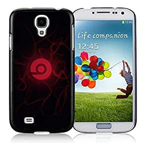New Antiskid Designed Cover Case For Samsung Galaxy S4 I9500 i337 M919 i545 r970 l720 With Beats by dr dre 7 Black Phone Case