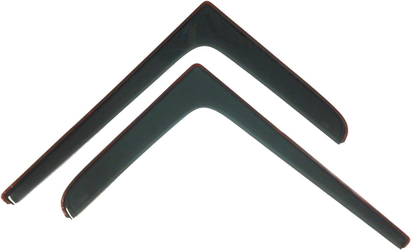 Lot de 2 d/éflecteurs dair compatible avec IVECO Daily 6 VI en 2014 /à pr/ésent Verre Acrylique Sombre PMMA de Qualit/é Sup/érieure