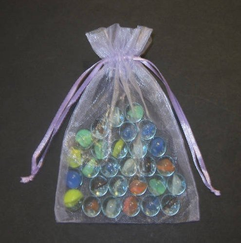 50 Azul claro bolsas de Organza grandes 15 x 22 cm: Amazon ...