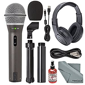 Samson Q2U Handheld Dynamic USB Microphone Re...