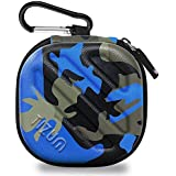Tizum Tm-Epc-112-Blu Earphone Carrying Case (Camouflage Blue)