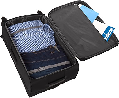 AmazonBasics Softside Spinner Suitcase