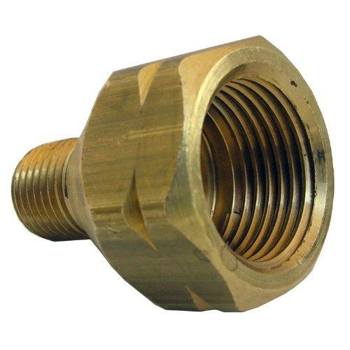 LASCO 17-5341 Female POL by 1/4-Inch Male Pipe Thread Brass Adapter by LASCO