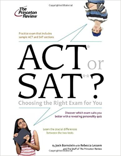 ACT or SAT for college admission?