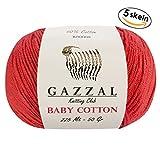 5 Skein (Pack) Total 8.8 Oz. Gazzal Ba - Best Reviews Guide