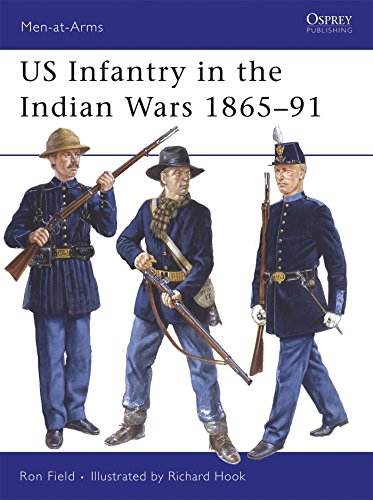US Infantry in the Indian Wars 1865–91 (Men-at-Arms)