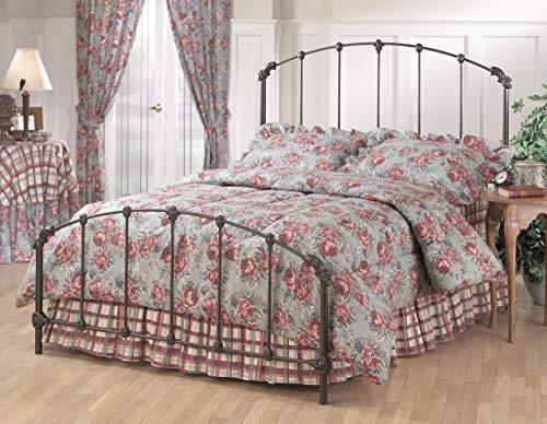 Hillsdale Furniture 346BFR Bonita Bed Set with Rails Full Copper Mist