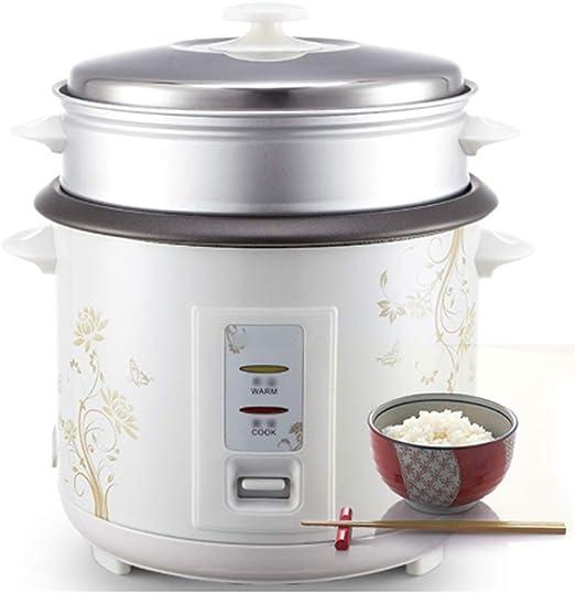 AQSG Fácil Limpieza Camper Olla Antiadherente Automático Mantener Caliente Calentamiento eléctrico de la Cocina Calentador Modos de cocción Saltear: Amazon.es: Hogar