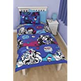 Character world High Monster High Beasties Single Rotary Duvet Set, Multi-Colour by Character World