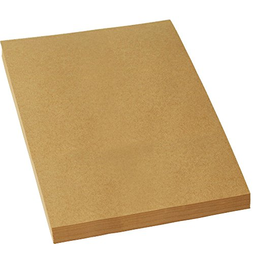 LIWUTE Recycled Natural kraft card A4 250 gsm DIY Hand Make Card Making Craft Paper Thick Paperboard Cardboard Brown Kraft Paper50 sheets
