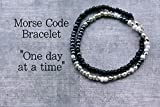 One Day at a time Bracelet, Inspirational Jewelry for Women, Motivational Bracelets
