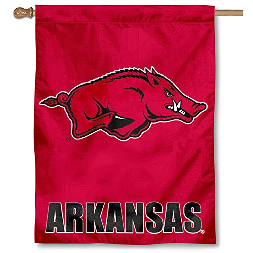 Banner Flag Arkansas Razorbacks (University of Arkansas Razorbacks House Flag)