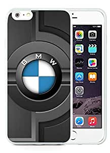 Special Custom iPhone 6 plus Case BMW 6 White Personalized Picture iPhone 6 plus 5.5 Inch TPU Phone Case