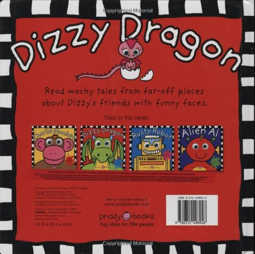 Funny Faces Dizzy Dragon by Priddy Books (Image #1)