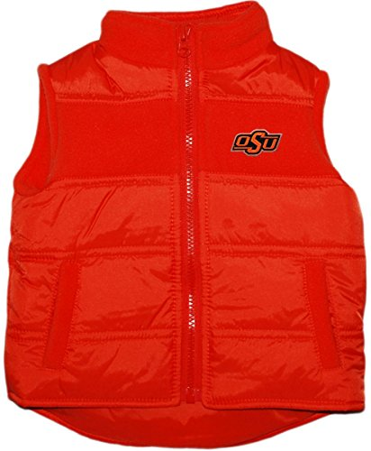 Oklahoma State University OSU Baby and Toddler Puffy Vest