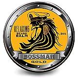 Bossman Relaxing Beard Balm - Nourish, Thicken and Strengthen Your Beard (Gold)