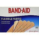 Flexible Fabric Premium Adhesive Bandages, 3/4 x 3, 100/Box