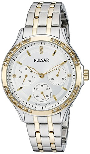 Pulsar Women's PP6192 Chronograph Two-Tone Stainless Steel Watch
