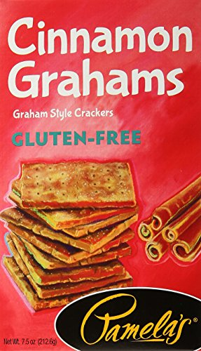 Pamela's Products Graham Gluten Free Cinnamon Traditional, 7.5 oz