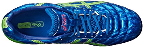 Asics Men's Gel-Lethal Tigreor 7 IT Soccer Shoe Kakadu/Lime/Red shop offer for sale clearance view fashionable cheap online 100% guaranteed cheap online 9G04HR