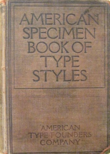 american type founders company - 2