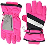 The Children's Place Toddler Girls 3-in-1 Glove, hot gossip neon, L/XL(8+YR)