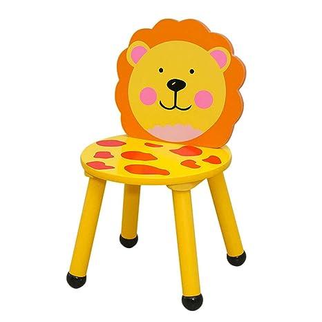 Amazon.com: ZH - Mesa infantil y silla de animales, mesa ...