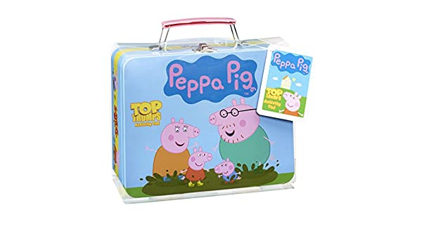 Peppa Pig Top Trumps Colectores de estaño: Amazon.es ...