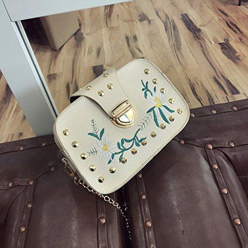 Lady Chain Tote Black Handbag Kofun Messenger Bags Gold Hobo Purse Shoulder For Women 84wfIq