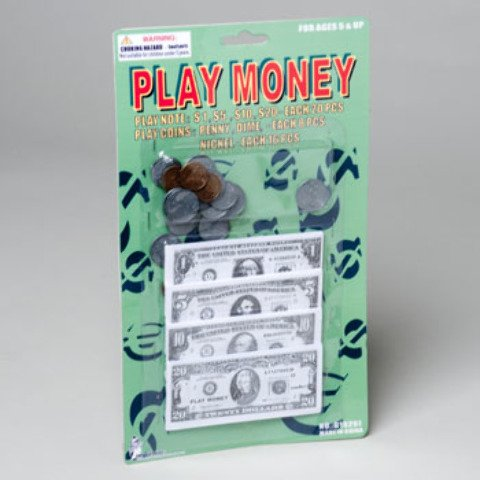 Play Money Set Case Pack 72 by DDI