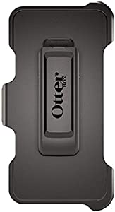 OtterBox Defender Series Holster Belt Clip Replacement for Apple iPhone 6 / iPhone 6S / iPhone 7 / iPhone 7S / iPhone 8 ONLY - Black